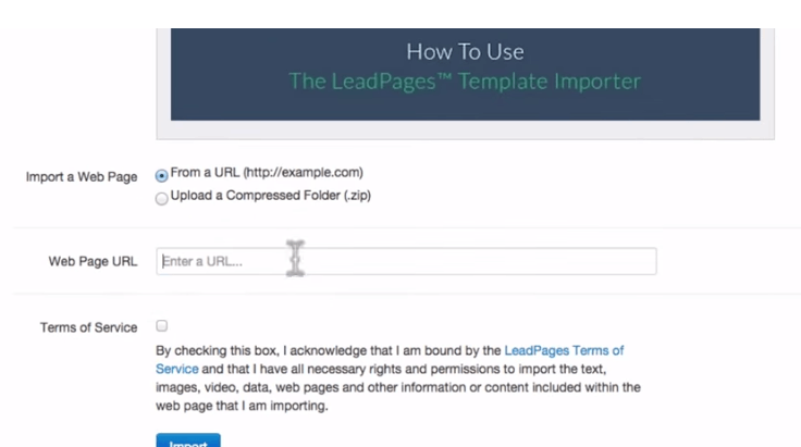 LeadPages Importer