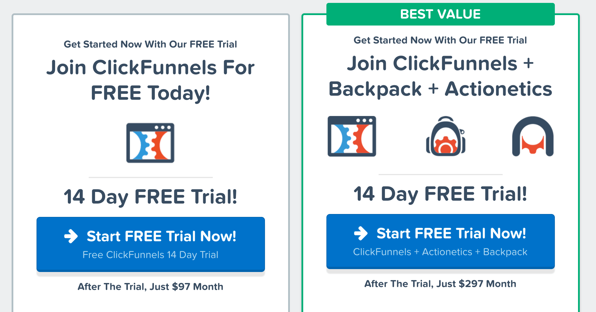 ClickFunnels Pricing Monthly