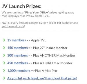 ClickFunnels JV Prizes