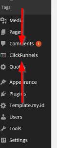 WordPress Clickfunnel Plugin