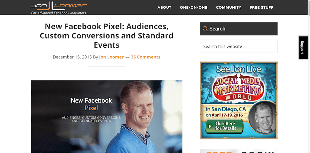 JonLoomer.com For Advanced Facebook Marketers