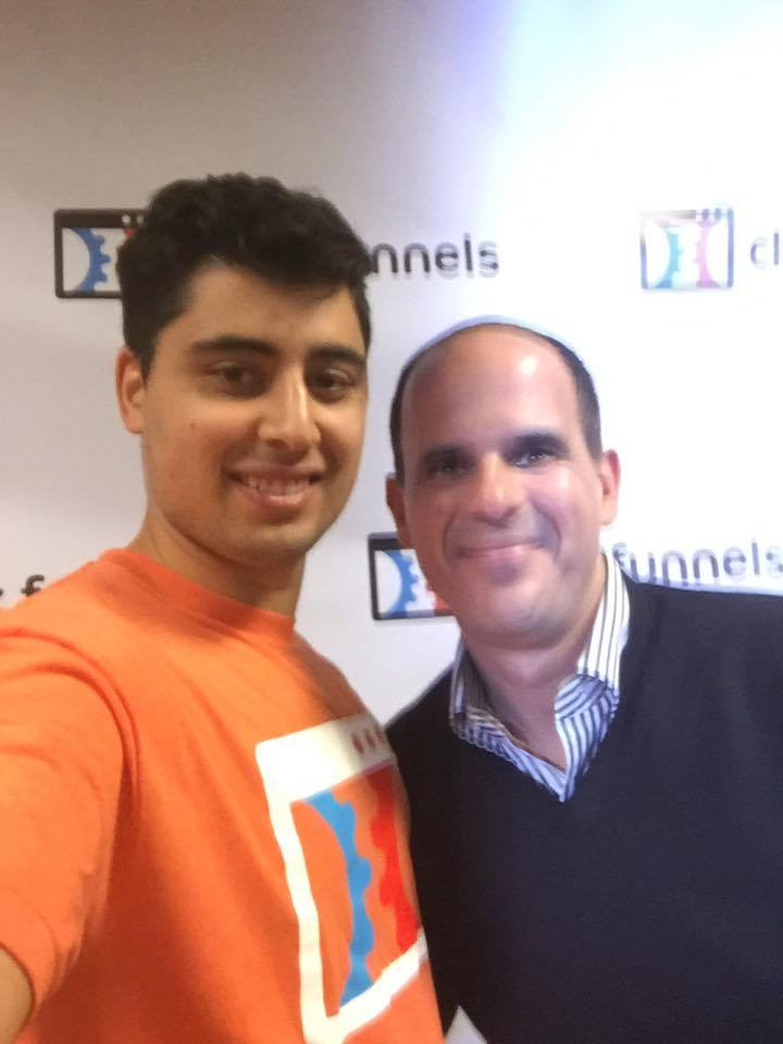 Hanging with Marcus Lemonis At Funnel Hacking Live 2016